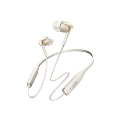 Ecouteurs intra auriculaires bluetooth PHILIPS SHB5950 blanc