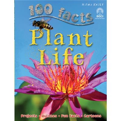 100 Facts Plant Life (Paperback)