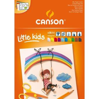 Bloc de Cartulinas de Colores Canson Kids A4