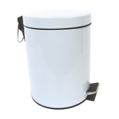 Msv poubelle 5l blanche