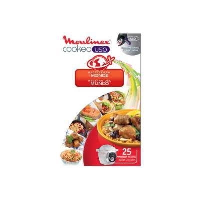 Cuiseur vapeur MOULINEX COOKEO 25 recettes du monde