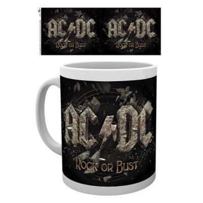 Tasse de ceramique AC/DC Rock or Bust