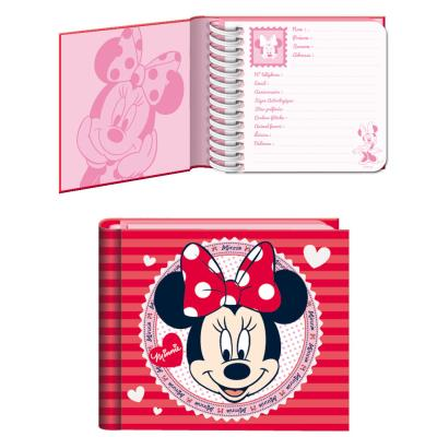 Carnet des copines Minnie