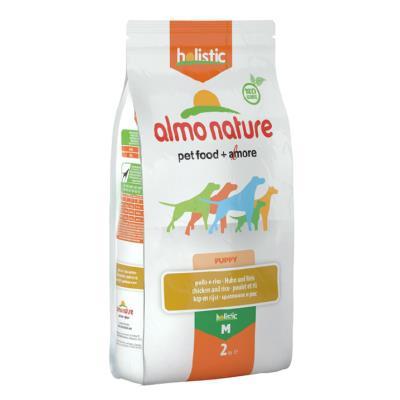Almo Nature Chien Holistic Medium Puppy Poulet et riz 2 kg