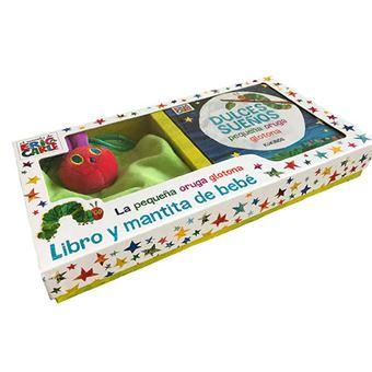 Dulces sueños, libro y mantita de bebé