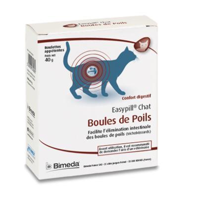 Easypill boules de poils compléments alimentaires pour digestion chats
