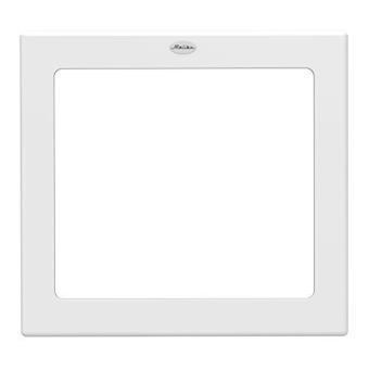 Tenzo 5298 005 Malibu Miroir Design 81 X 86 X 25 Cm En Panneau Mdf Laqué Blanc