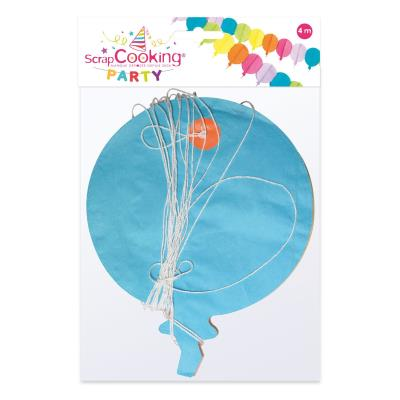 Guirlande - Ballon - 10 m - Scrapcooking Party