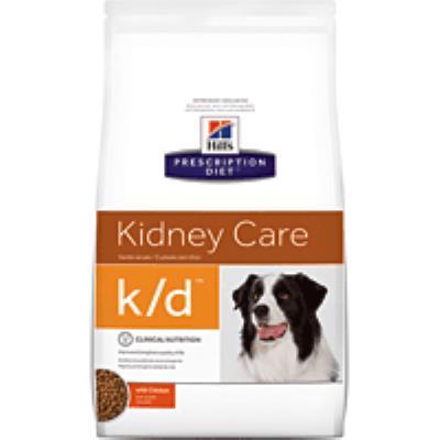 Croquettes hill's prescription diet canine k/d sac 2 kg