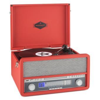 121 sur auna belle epoque 1907 tourne disque r tro lecteur de cassette bluetooth mc usb cd. Black Bedroom Furniture Sets. Home Design Ideas