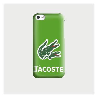 Coque iphone 5C J Acoste Parodie Lacoste