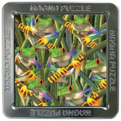 Magnet GRENOUILLES Mini Puzzles 3D série 2