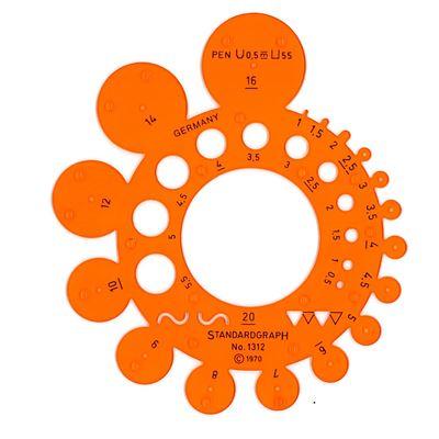 Trace circonférences petit modèle - graphoplex