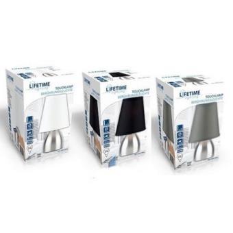 Lampe De Chevet Inox A Allumage Tactile Touch Sans Interrupteur Couleur Noir