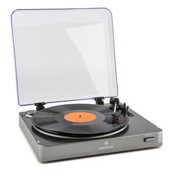60 sur auna tt 10 bt platine tourne disque metteur bluetooth sortie line argent platine. Black Bedroom Furniture Sets. Home Design Ideas