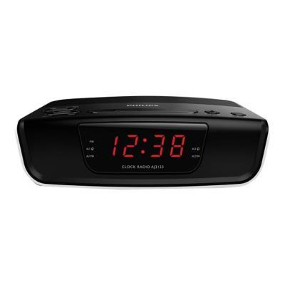Radio réveil Philips AJ3123 Noir