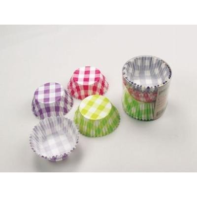 patisse 01738 cupcakes en papier sulfurise dans une boîte transparentmulticolore 5 cm