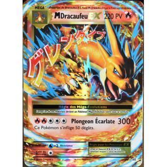 Carte pok mon 13 108 m ga dracaufeu ex 220 pv jeu de - Pokemon dracaufeu ex ...