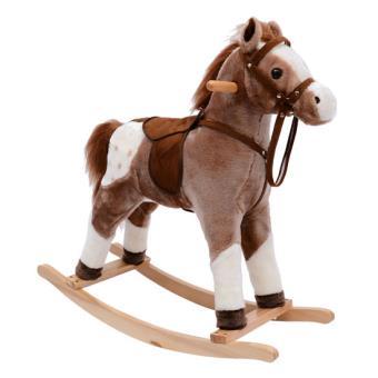 cheval a bascule enfant poney a bascule effet sonore jouet. Black Bedroom Furniture Sets. Home Design Ideas