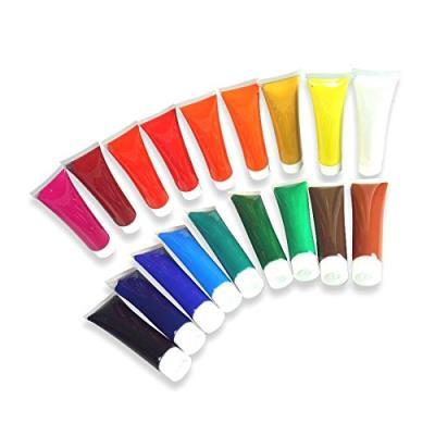 Peinture Acrylique 18Tuben Je36Ml Artico Set De Dessin Farbenset Couleurs Pour Peinture Acrylique Box