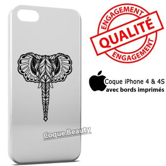 Coque iPhone 4 4S Elephant Design