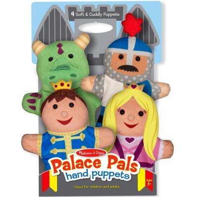 4 Marionnettes à main chevallier princesse jouet pour enfants à partir de 2 ans
