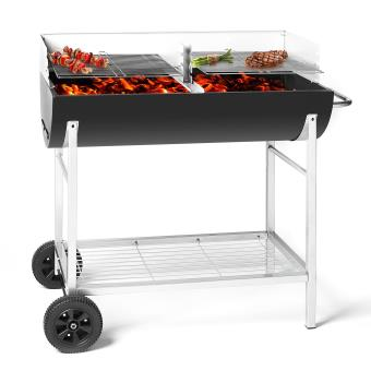 oneConcept GQ5 Beef Machine Barbecue charbon RECONDITIONNE
