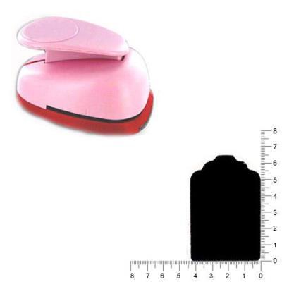 Maxi perforatrice - Etiquette - 6.5 cm