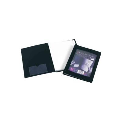 Rexel livret de présentation a5, 24 pochettes, coloris noir 17435bk