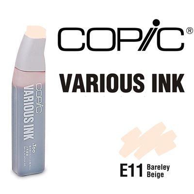 Encre various ink pour marqueur copic e11 barley beige - copic