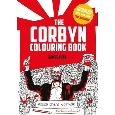 The Corbyn Colouring Book (New Austerity-Free Edition) - [Livre en VO]