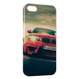 Coque iPhone 5 5S BMW Voiture rouge