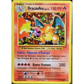 Carte pok mon 11 108 dracaufeu 150 pv holo jeu de cartes achat prix fnac - Tout les carte pokemon ex du monde ...