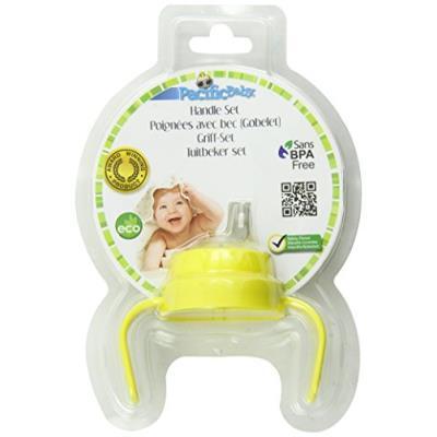 Accessoires poignées et bec souple pour biberons pacific baby