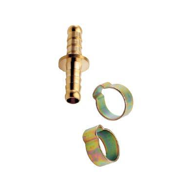 Mecafer - jonction double tuyau 8x13 + colliers