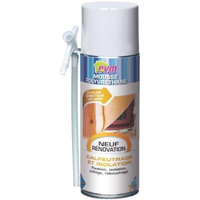 PVM - Mousse polyurethane en aérosol 500 ml