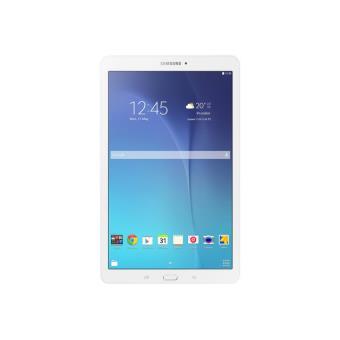 "Samsung Galaxy Tab E - Tablet - Android - 9.6"" TFT (1280 x 800) - microSD sleuf - 3G - parelwit"