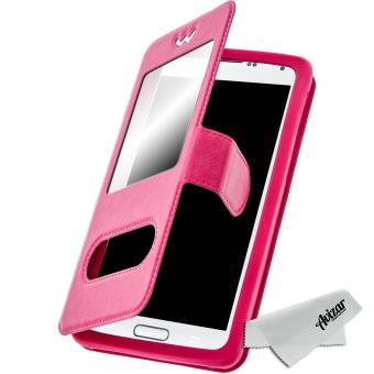 Housse Etui Fenêtre Universel Pour Smartphone 5 3 5 5 Pouces Rose Etui Pour Téléphone Mobile Achat Prix Fnac