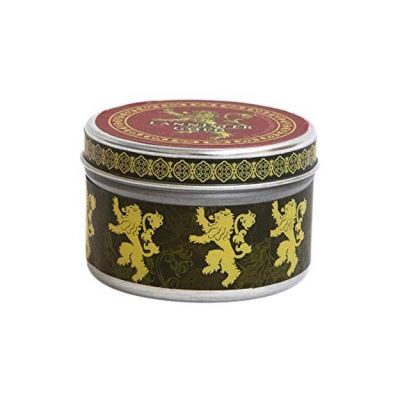 Game of Thrones: House Lannister Scented Candle: 5.6 oz: Large, Cinnamon (Scented Tin Candle Lg Cinnamon) - [Version Originale]