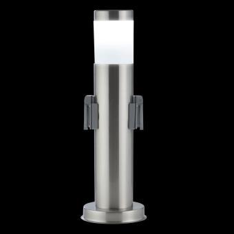 8u20ac Sur Waldbeck Monolite Colonne Double Prise De Courant Pour Jardin U0026  éclairage Extérieur   Inox   Achat U0026 Prix | Fnac
