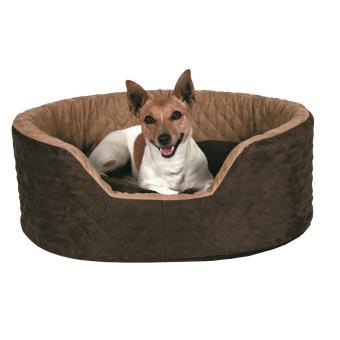 Panier brun benito trixie pour chiens et chats longueur 60 cm largeur 45 cm  - Paniers et mobilier pour chien - Achat   prix   fnac d2a6b2492d8