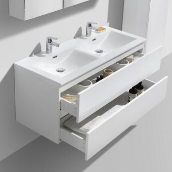 Double Vasque Design Meuble Vasque Double En Bois Poser Corus - Double vasque salle de bain prix