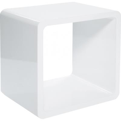 Table CUBE blanche