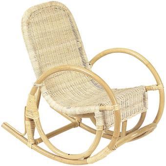rocking chair pour enfant en rotin fauteuils enfant. Black Bedroom Furniture Sets. Home Design Ideas