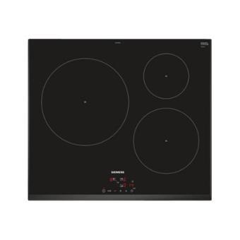 siemens iq100 eu651bjb1e table de cuisson induction 60 cm vitroc ramique avec avant. Black Bedroom Furniture Sets. Home Design Ideas