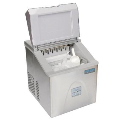 Machine à glaçons 15kg/24H en inox professionnelle