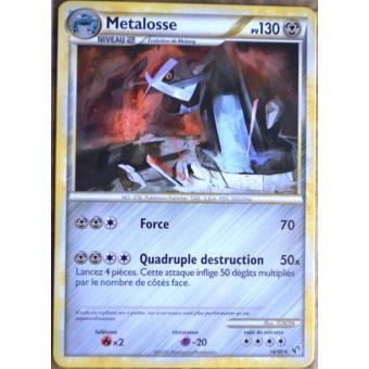 Metalosse 130pv 18//90 HS Indomptable Carte Pokemon Rare neuve fr