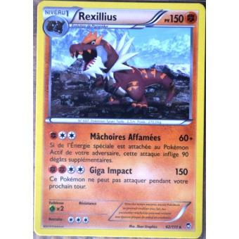 Carte pok mon 62 111 rexillius 150 pv rare jeu de cartes - Photo de pokemon rare ...