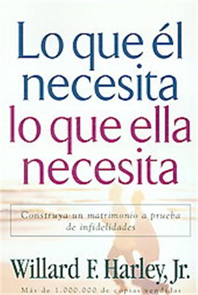 Lo Que El Necesita, Lo Que Ella Necesita/ His Needs, Her Needs