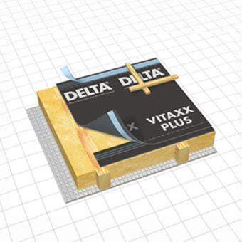 Ecran de sous-toiture HPV Delta®-Vitaxx plus Doerken 50m x 1,5m - Matériel de construction ...